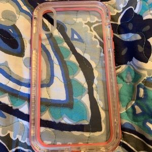 Lifeproof iPhone XR pink case